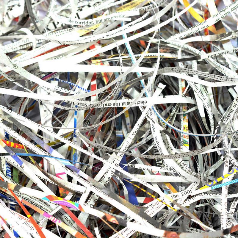 Altpapier Schredder