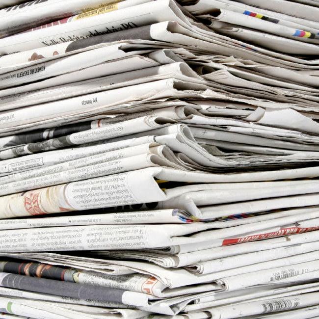 Altpapier: Zeitungen